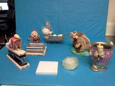 Beauty and the Beast 5 Piece Desk Set NEW VERY RARE Disney Limited Collectibles