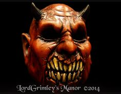 Demon Wrath Price: 59.99 There is nothing quite so bad as a demon that has surfaced from the pits of Hell.  Questions ? Contact us at order@lordgrimley.com http://www.ebay.com http://www.ebay.com/itm/NEW-2014-Demon-Wrath-W-Moveable-Mouth-Halloween-Mask-Devil-Horror-Monster-/261484331360?pt=LH_DefaultDomain_0hash=item3ce1ae4160