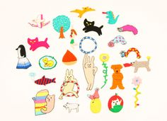 AIUEO If things pretty miscellaneous goods | AIUEO applique