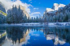 valley View, Yosemite, CA by Murali Achanta
