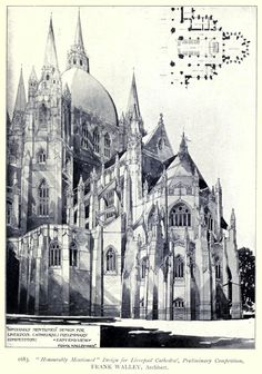 Design for the Cathedral, Liverpool