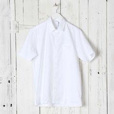 SUNSPEL Straight Hem Short Sleeve Shirt