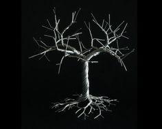 Escultura árbol de alambre del duro árbol topiario por OnceWire
