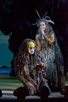 "Luca Pisaroni and Joyce Didonato in the Met's ""The Enchanted Island"""