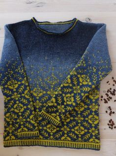 the web site is in French, would love to find this pattern in English! It's a Drops Design free pattern Baby Knitting Patterns, Knitting Stitches, Knitting Designs, Knitting Yarn, Hand Knitting, Stitch Patterns, Crochet Patterns, Tejido Fair Isle, Punto Fair Isle