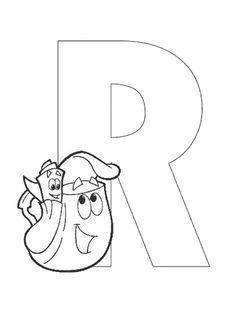 Lernübungen für kinder zu drucken. Infant Alphabete 193