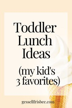 Ideas for toddler meals can be challenging if you have picky eaters! Here are my 1 year old and 2 year old 3 favorite healthy lunch recipes Top 10 Healthy Foods, Healthy Baby Food, Healthy Meals For Kids, Kids Meals, Healthy Recipes, Food Baby, Delicious Recipes, Baby Food Recipes, Whole Food Recipes