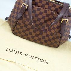 Louis Vuitton Damier Ebène Belem Handbag |