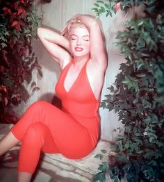 Marilyn by Ted Baron in 1954.