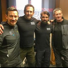 Ollie, Foxy, Ant and Billy SAS Who dares wins Sas Special Forces, Ant Middleton, Special Air Service, Fantastic Mr Fox, We Will Rock You, British Army, Tom Hardy, Dares, My Hero