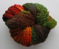 Knitting Kit, Superfluity, Multicolor, Wool, Mohair, Silk, Superfluity Mobius Wrap, Fall Variation