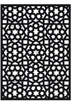 DS246 - Sticker moucharabieh fenêtre