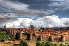 Avila, Spain...looks like a fairy tale....