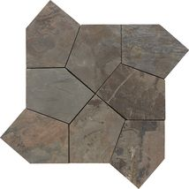 California Gold Flagstone Pattern Natural Cleft - Slate Collection by daltile