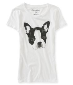 Frenchie Graphic T - Aeropostale