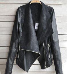 CHAQUETA DE CUERO MUJER XL  chaqueta  chaquetadecuero  cuero  mujer  Chaqueta De Cuero 53a40f317fdd