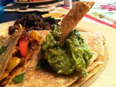 Vegan Quesadillas!  Gluten Free, Vegan, Maker's Diet  glutenfreehappytummy