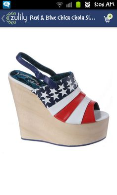 fourth of july baby shoes