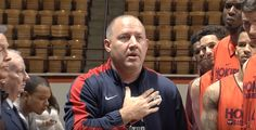 Buzz Williams Teaches Team Importance Of The National Anthem (VIDEO)
