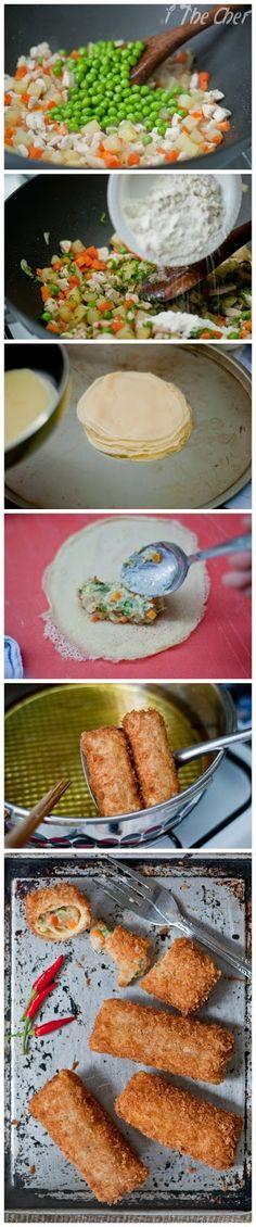 I The Chef: Chicken risoles