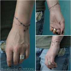 A tattoo I did some time ago... #IB_TATTOOING #tattoo #inked #smalltattoo #wristtattoo #bracelettattoo #tagsforlikes #girltattoo #chernivtsi