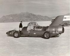 Arfon's jet car driven by the great Paula Murphy.