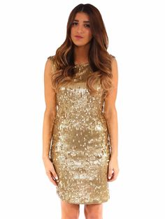 5 Glitzy Holiday Outfit Ideas | 3. Sequin Dress | MICHAEL Michael Kors Backless Sequin Dress www.sabrinascloset.com