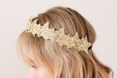 DIY Star Headband glitter  I Sp4nkblog
