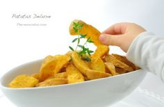 Unas irresistibles patatas deluxe para enriquecer vuestros platos Thermomix No Cook Appetizers, Tapas, Starters, Finger Foods, Good Food, Awesome Food, Sweet Potato, Carrots, Veggies