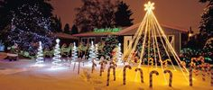 Candy Cane Lane Edmonton's Candy Cane Lane is visited by hundreds of thousands of visitors every Christmas season and it has become traditional for Edmontonians to flock to this West End Christmas Light and Decoration display every year. Christmas Themes, Christmas Lights, I Am Canadian, Canada Day, West End, Alberta Canada, Candy Cane, Seasons, Display