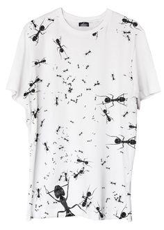 Ants - printed t-shirt