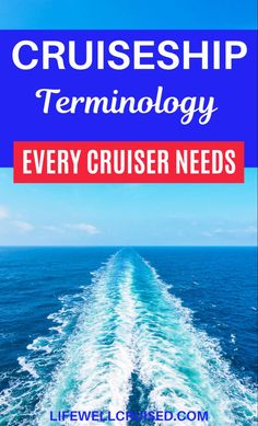 Planning a cruise in the future? You may have noticed that cruising has a language all it's own. Cruise lingo, cruise jargon or cruise voculary is real! Understand what cruise lines and other cruisers are talking about with this cruise glossary. #cruise #cruiselingo #cruises #cruisetips #cruisetravel #firstcruise Cruise Packing Tips, Cruise Travel, Cruise Vacation, Cruise Ship Reviews, Best Cruise Ships, Cruise Excursions, Cruise Destinations, Bahamas Cruise, Caribbean Cruise