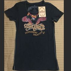 79faa223610a TRUNK LTD AEROSMITH Women V-Neck Tee Trunk Ltd (Those Are The Really  Expensive