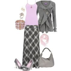 grey/pink-love the skirt!