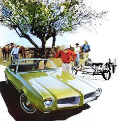 This 1971 Pontiac Firebird Esprit – 'The Ranch' – Art Fitzpatrick and Van Kaufman