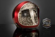 Retro Motorcycle Helmets, Biker Helmets, Racing Helmets, Motorcycle Gear, Women Motorcycle, Ducati Monster, Royal Enfield, Bussola Tattoo, Vintage Helmet