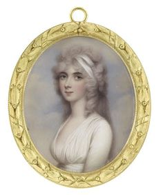 Lady Cockerell minature 1810