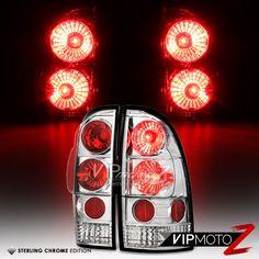2005-2012 TOYOTA TACOMA LED TAIL LIGHT BAR LIGHTBAR LAMP BLACK