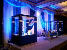 Eldorado Country Club - Ballroom in Blue  www.eldoradocc.com ballroom, blue wwweldoradocccom