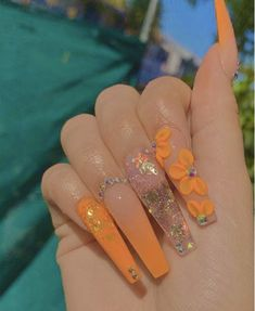 welcome to the culture : internet ctrl 🦋 Bling Acrylic Nails, Simple Acrylic Nails, Aycrlic Nails, Summer Acrylic Nails, Best Acrylic Nails, Bling Nails, Swag Nails, Summer Nails, Cute Acrylic Nail Designs