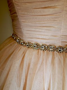 crystal sash with rhinestone belt