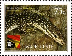 Country: East Timor Series: International Year of Biodiversity Catalog codes: Michel TL 386 Themes: Animals (Fauna) Timor Leste, Southeast Asia, Reptiles, Offset, Monitor, Stamp, Prints, United States, Animales