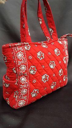 Brilliant and beautiful Vera Bradley handbag in