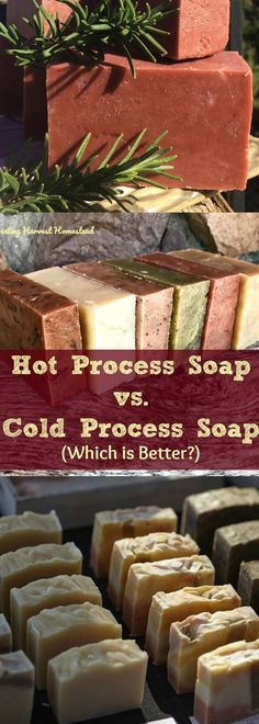 The debate rages on.some love cold process soap making, and some love hot process soap making! Which style is the best way to make handmade soap: Hot Process? Or Cold Process? Find out the pros and cons of both methods of making soap: Hot Process vs. Soap Making Recipes, Homemade Soap Recipes, Bath Recipes, Homemade Cards, Honey Soap, Lemon Soap, Soap Making Supplies, Soap Making Kits, Soap Maker