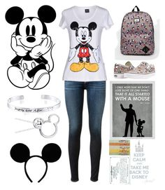 """""""Disney lover"""" by josie2015 ❤ liked on Polyvore featuring Disney, Vans, AG Adriano Goldschmied, disney, disneylover and josie2015collections"""