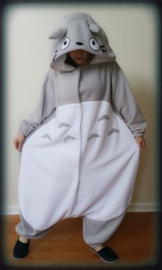 My Neighbor Totoro  Totoro Kigurumi  Adult and by LadyLeeCosplay