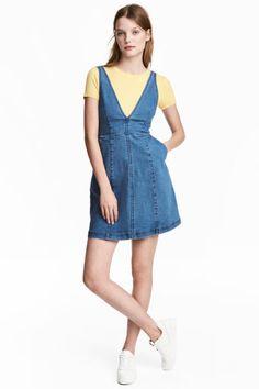 Sukienka dżinsowa - Niebieski denim - ONA | H&M PL