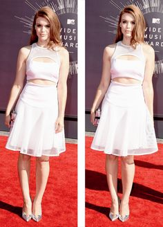 Holland Roden at the VMA's
