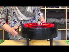▶ Knitting a Flat Panel on the addi Express Kingsize Knitting Machine - YouTube