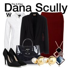 Inspired by Gillian Anderson as Dana Scully on The X-Files - Shopping info!